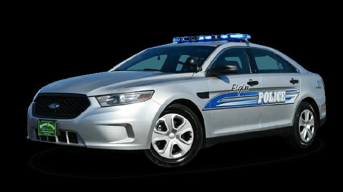 ELGIN POLICE CAR