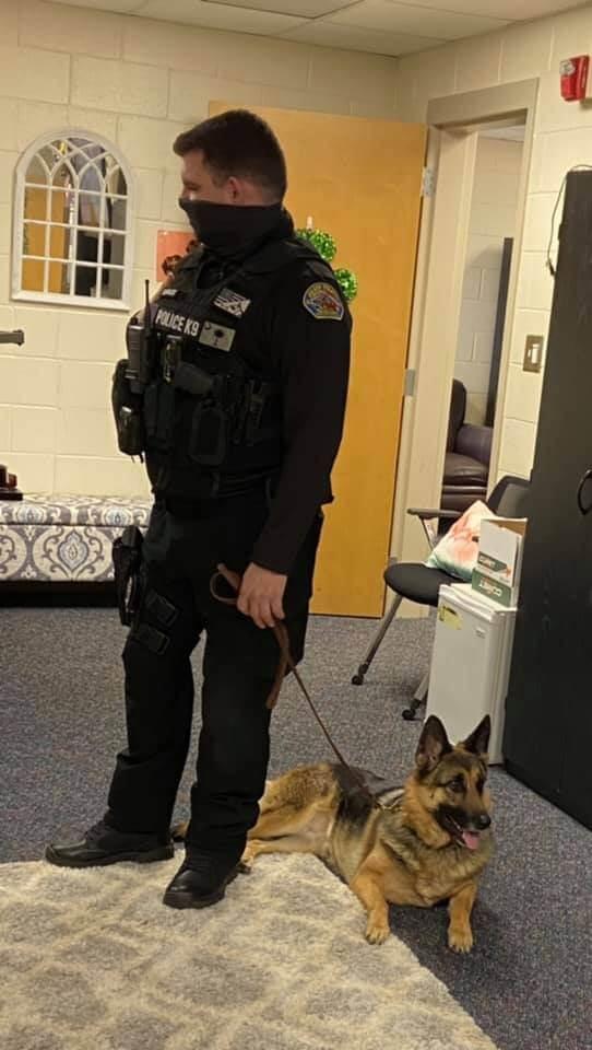 RANDY BASS AND NALA, ELGIN POLICE DEPARTMENT