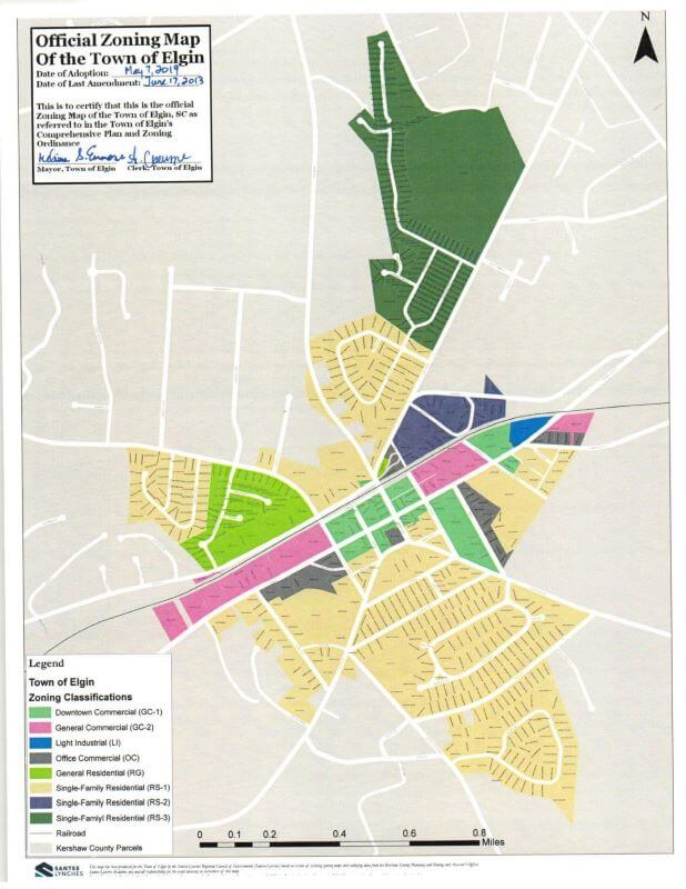 ABOUT ELGIN, zoning and planning commission, town of elgin